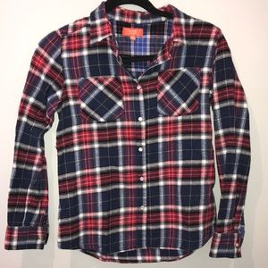 Button up Plaid kids shirt
